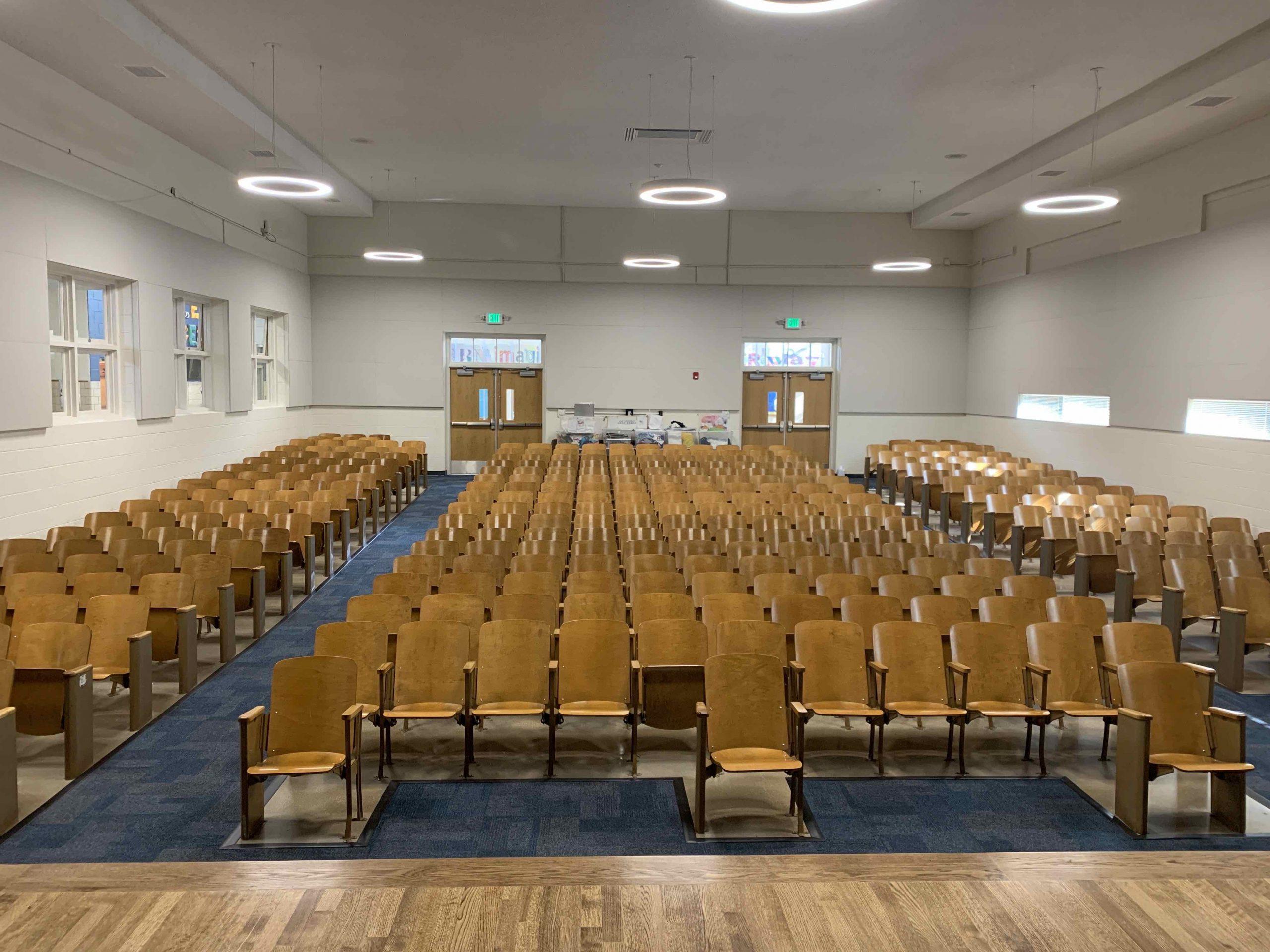 The Auditorium is Complete! image 0