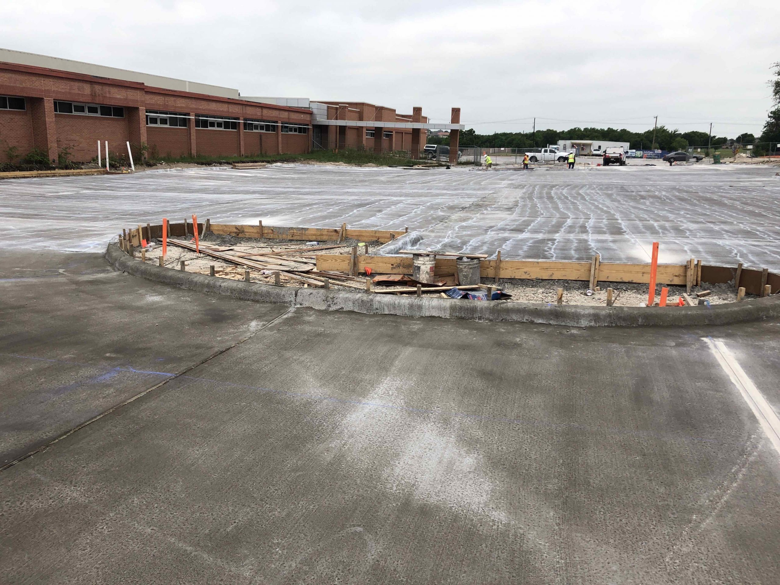 Final Parking Lot Pour image 0