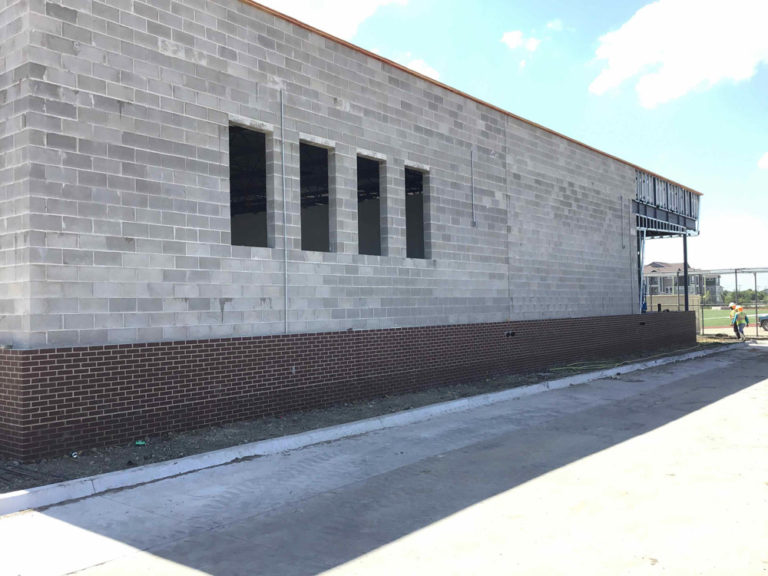 A new entrance and new brick image 1