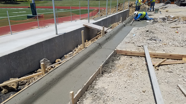 Concrete, concrete and rebar image 1