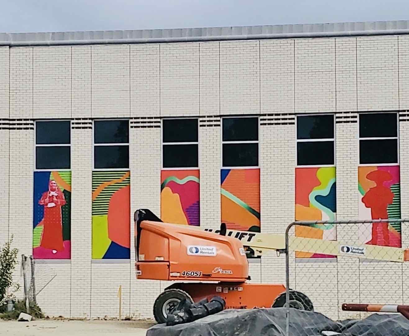 Mural Progress image 1
