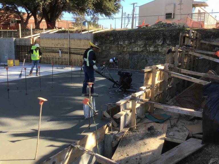 Foundation Slab at Athletic Building Addition Progressing image 1
