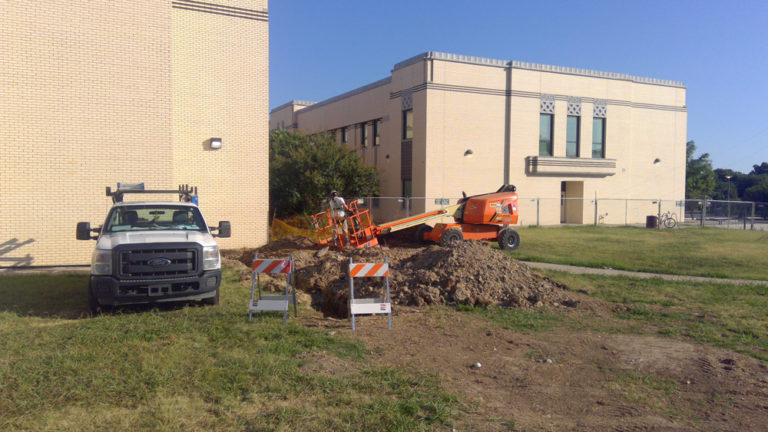 Gas Line Relocation image 1