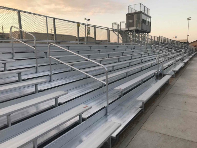 The bleachers look great! image 0