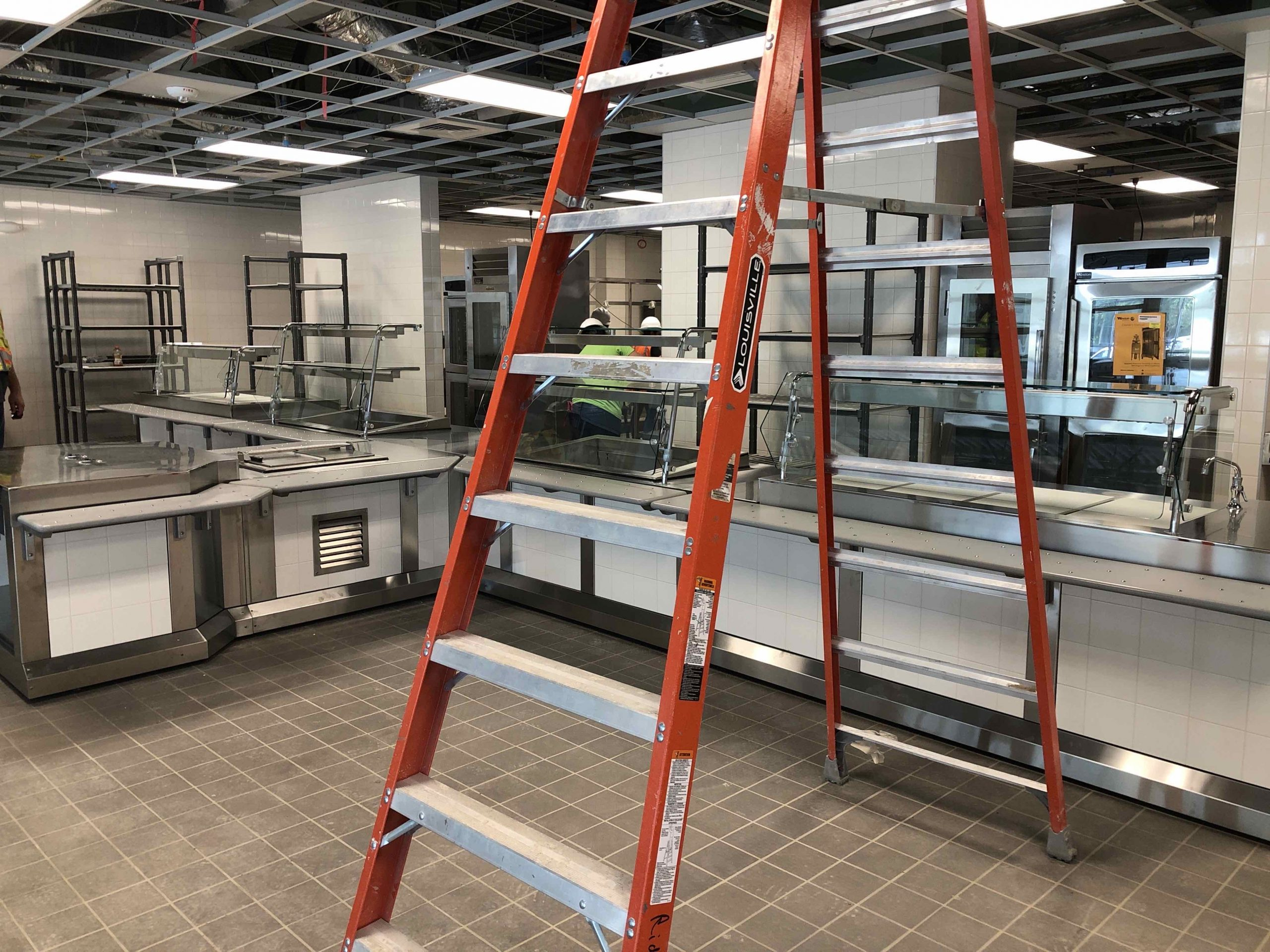 Cafeteria Nearing Completion image 1