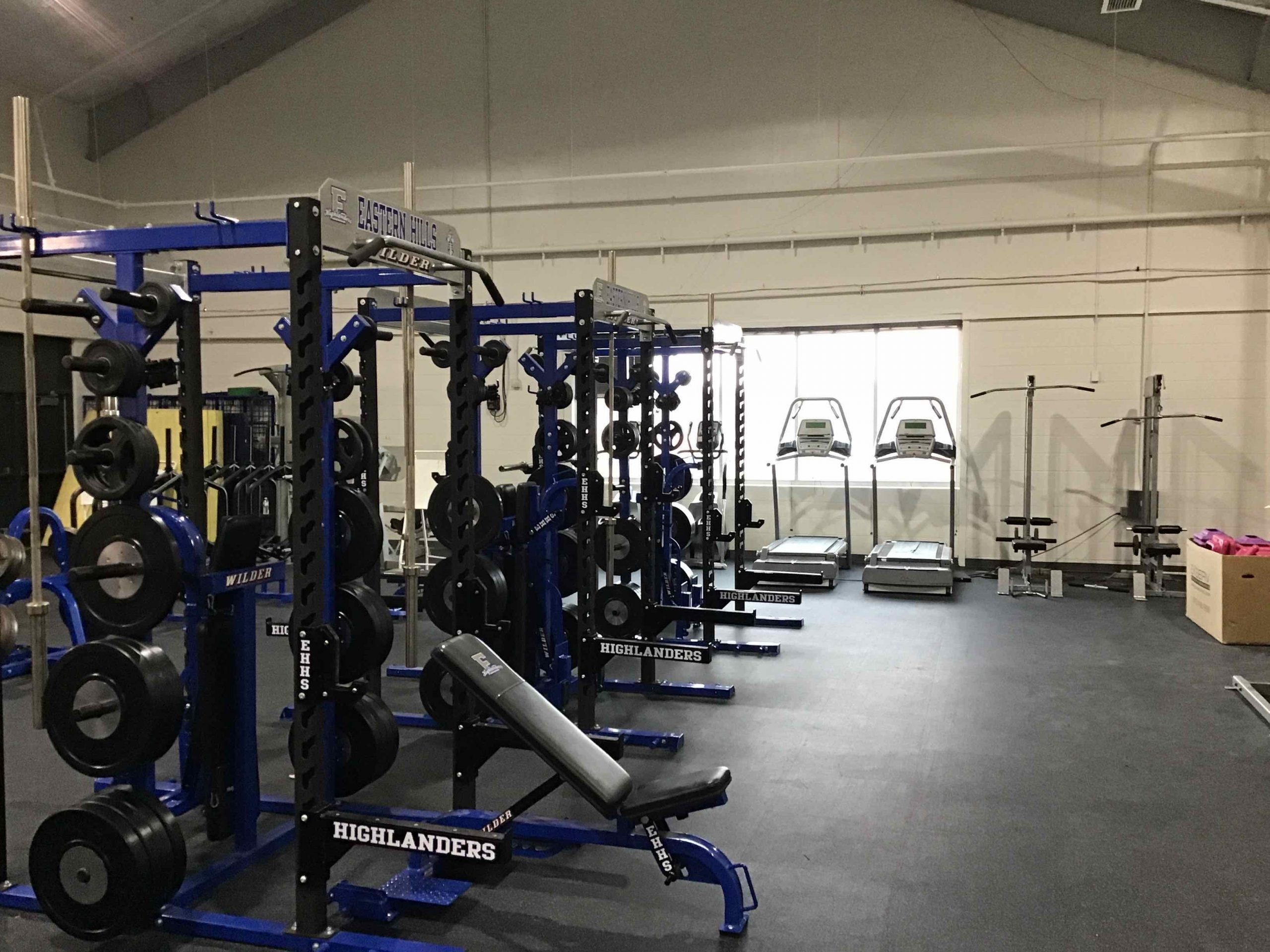 Weight Room = Complete! image 0