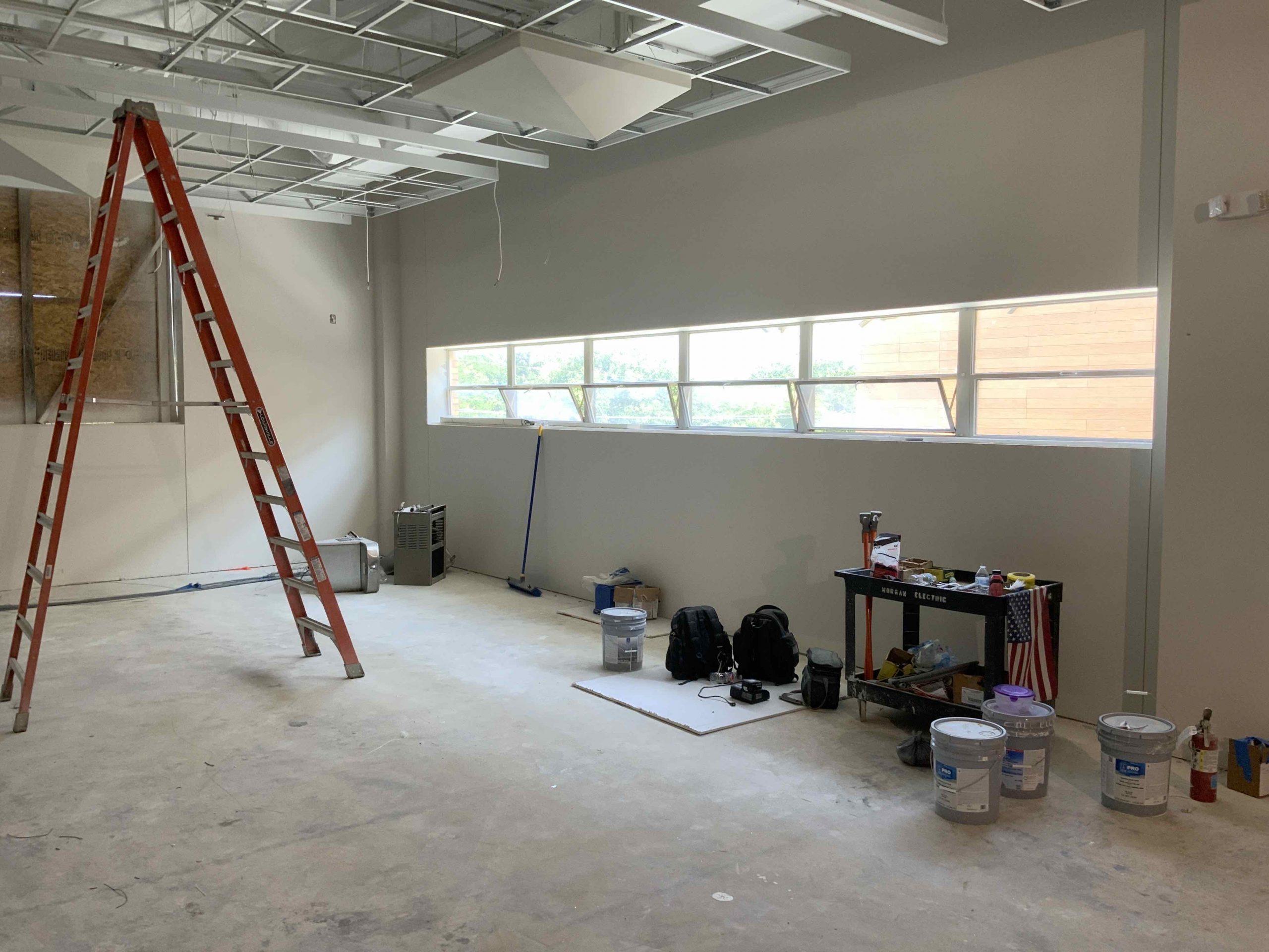 Cafeteria& Band Hall Progress image 0