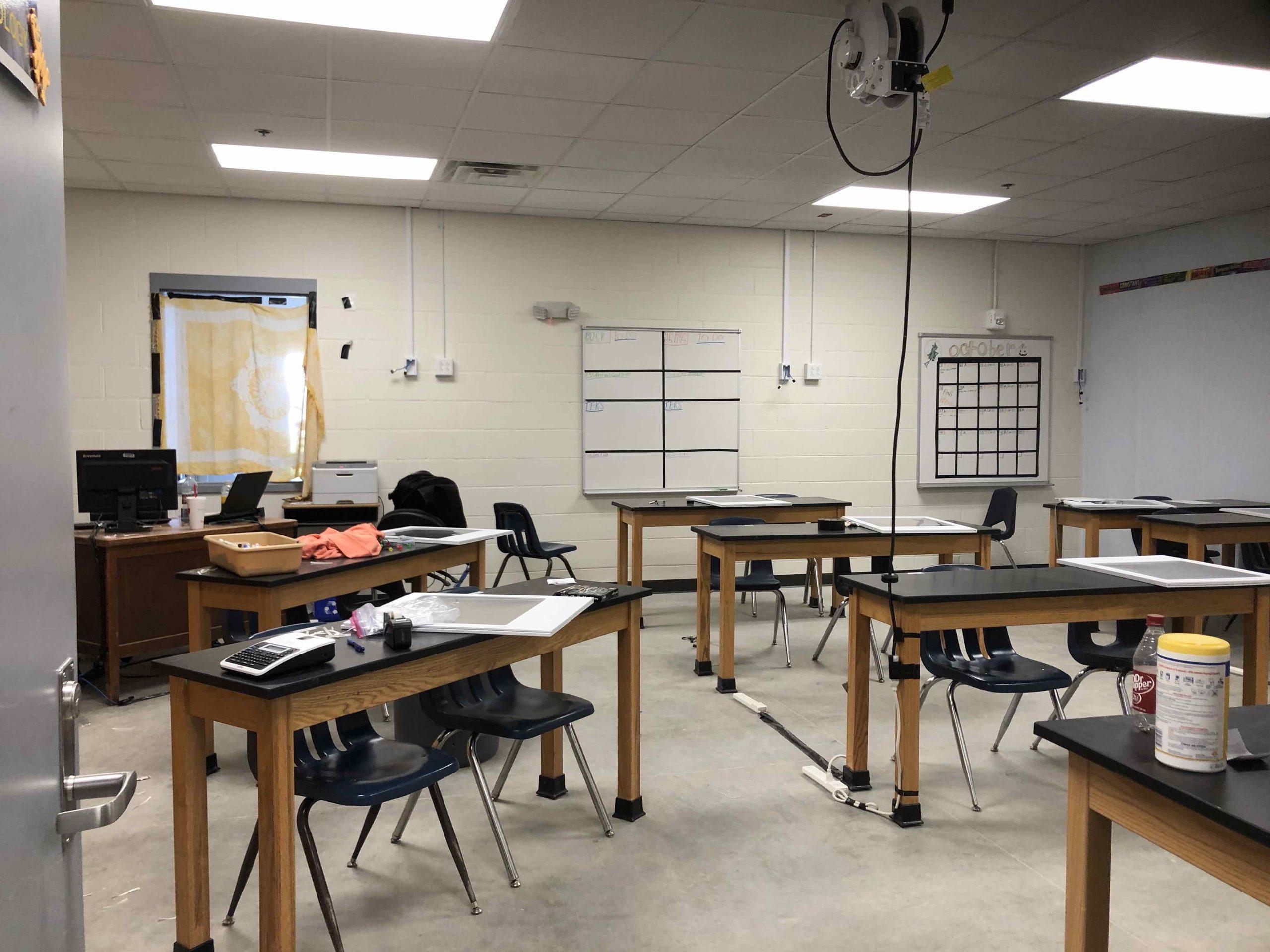 JROTC Classrooms Ready image 0