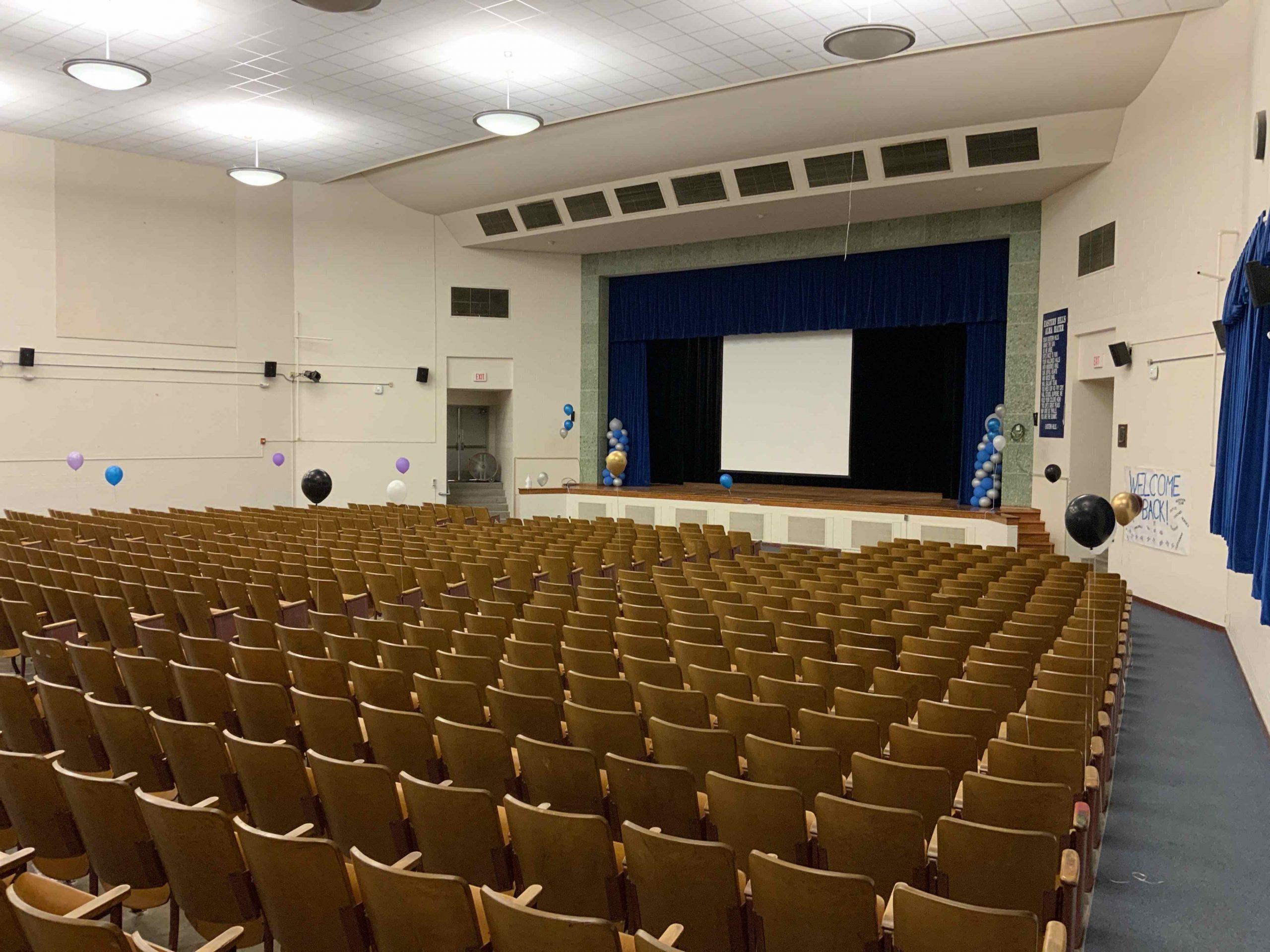 Auditorium Complete! image 0