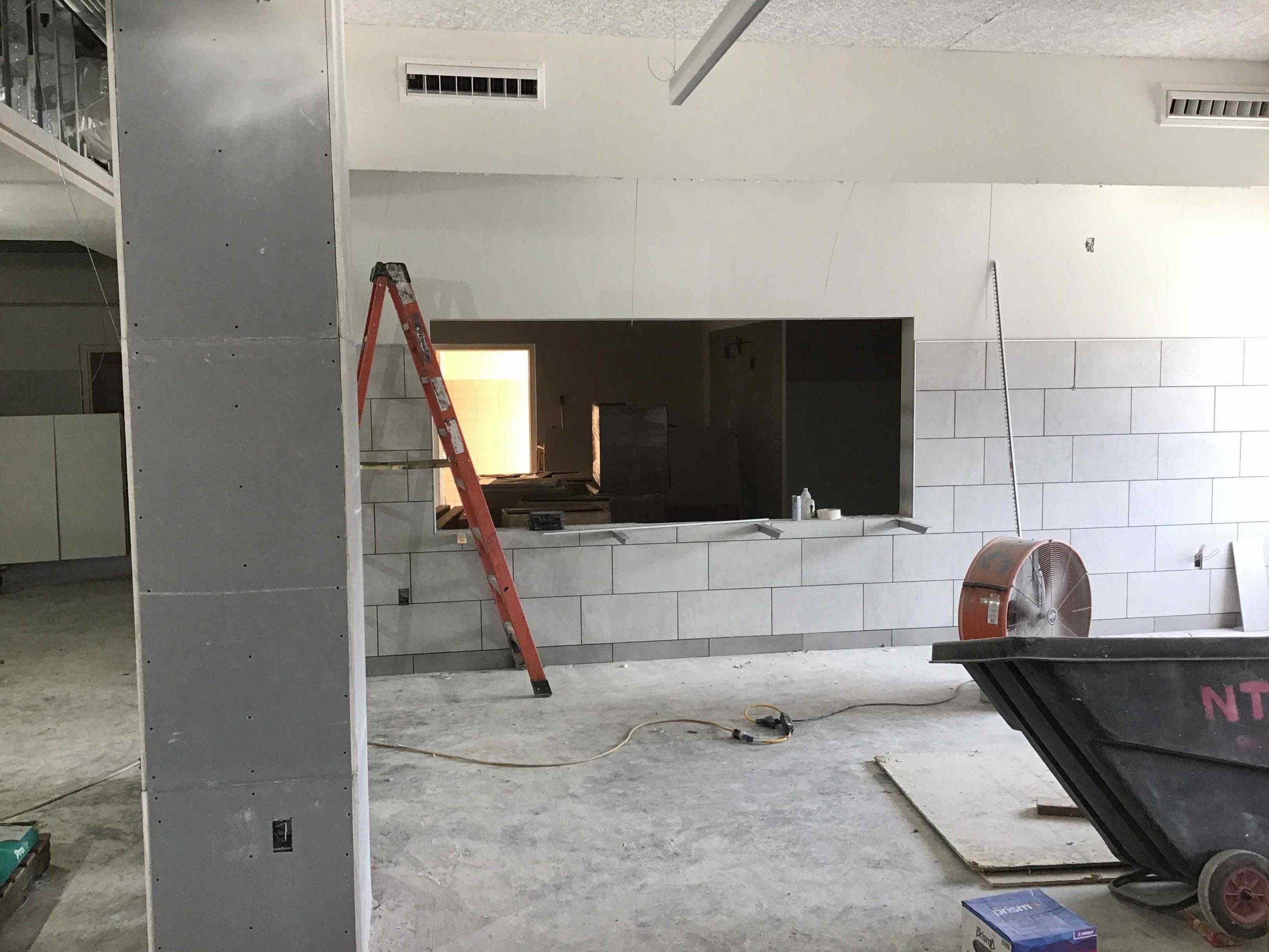 Cafeteria& Band Hall Progress image 1