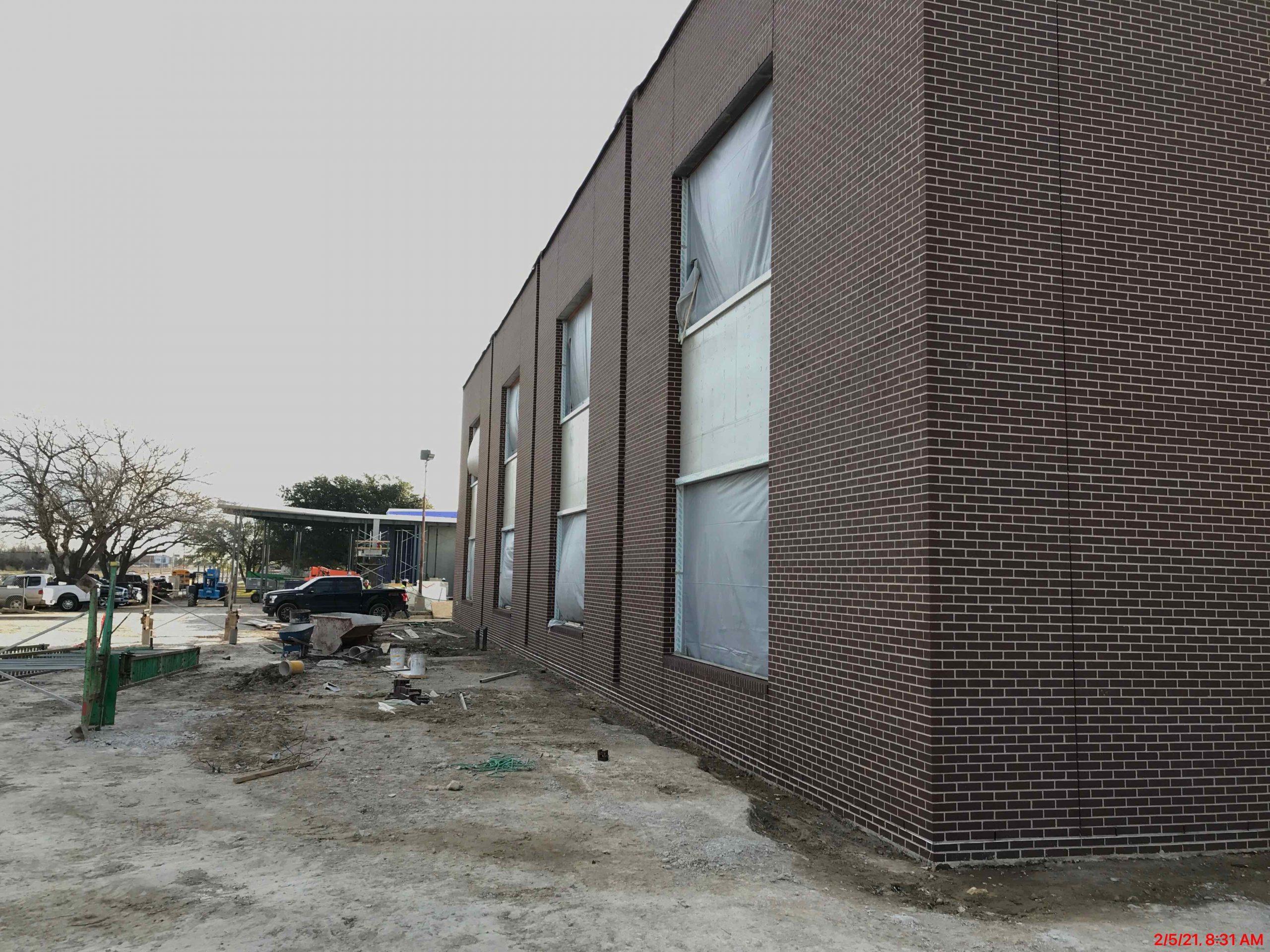 CTE Exterior Brickwork Complete! image 1