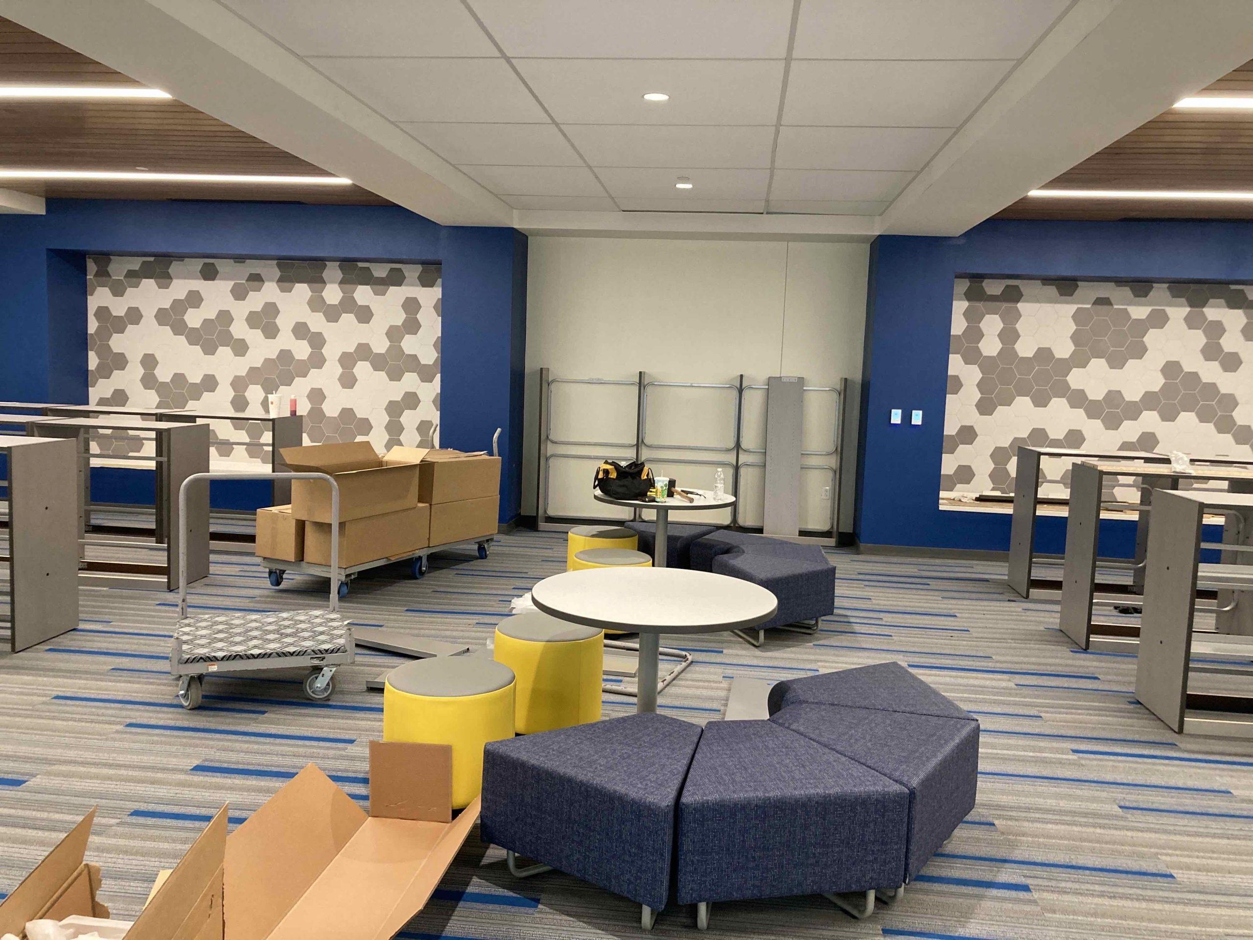 Media Center Has Furniture! image 0