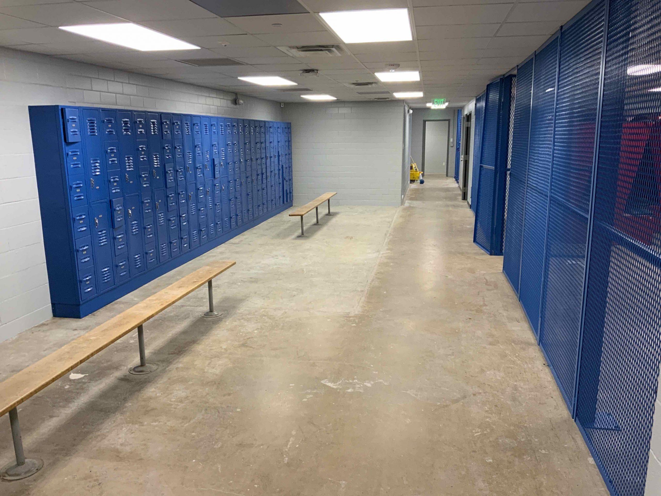 Locker Room is Complete! image 0