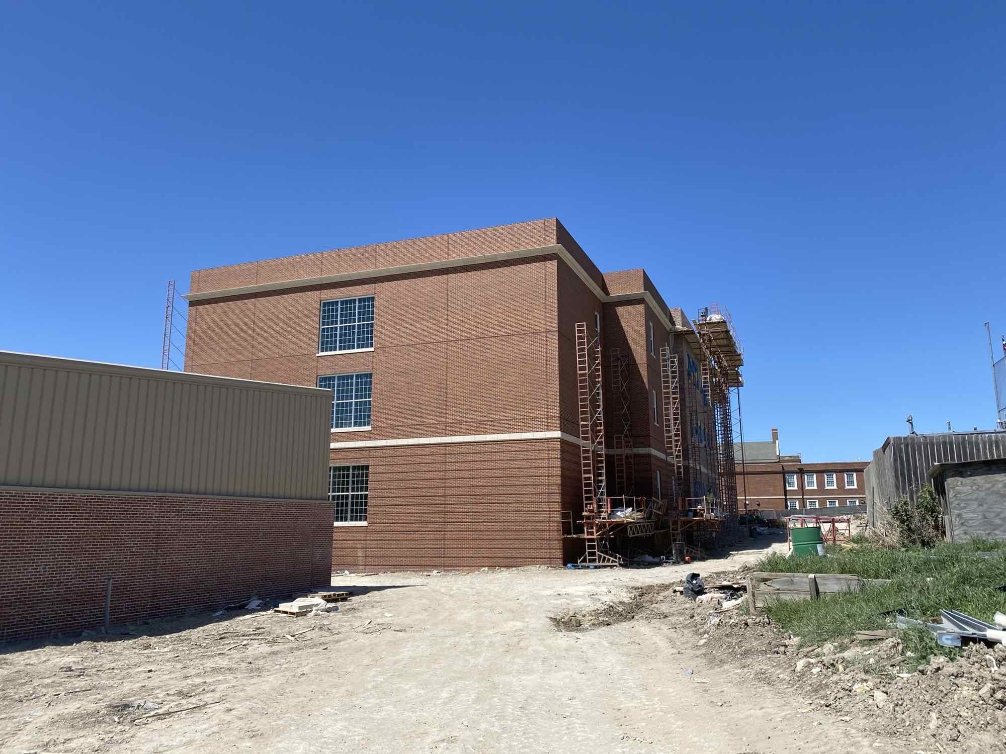 Science Building Coming Along image 0