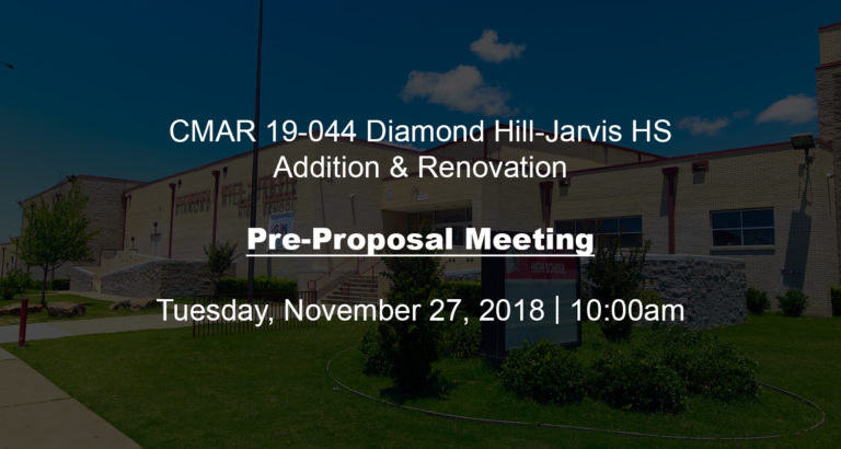 BID OPPORTUNITY & PRE-PROPOSAL MEETING image 0
