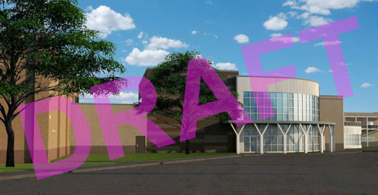 Conceptual renderings of SHHS New Building Addition image 0