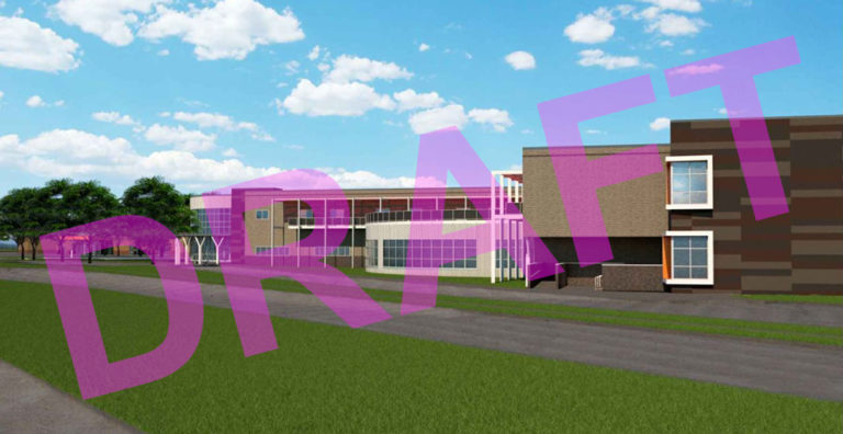 Conceptual renderings of SHHS New Building Addition image 1