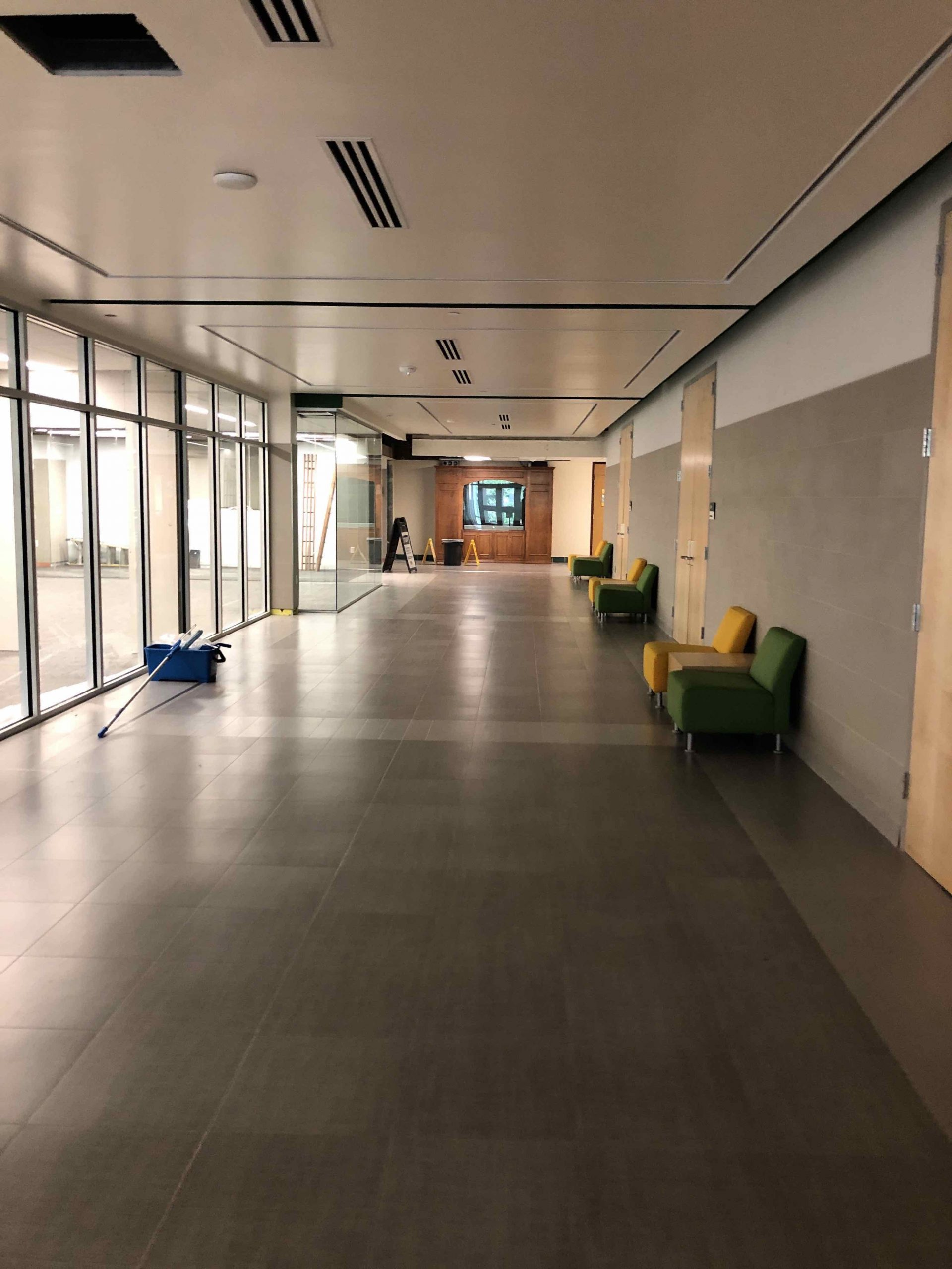 Main Hallway & Media Center image 0
