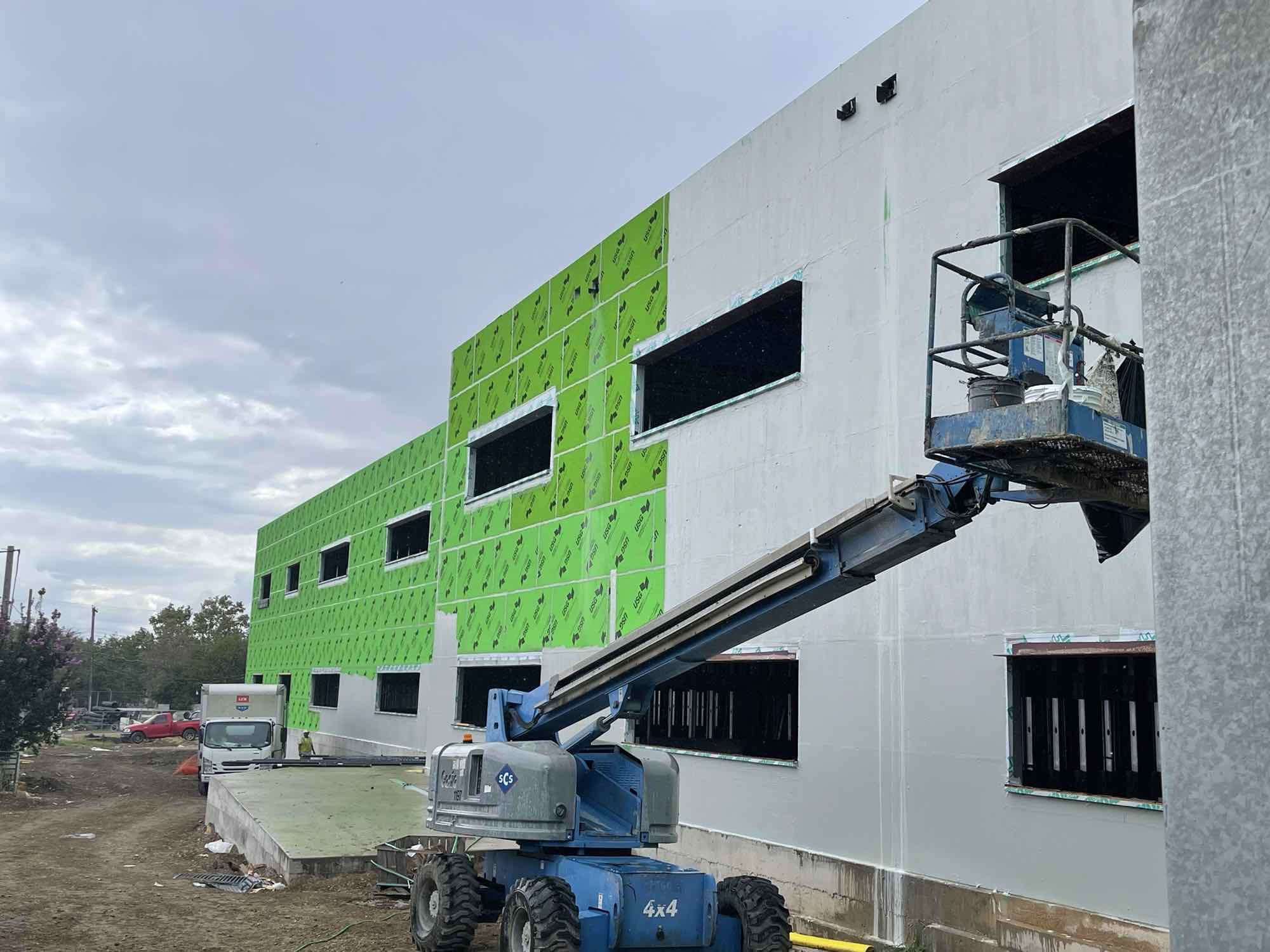 Air Barrier Install image 0