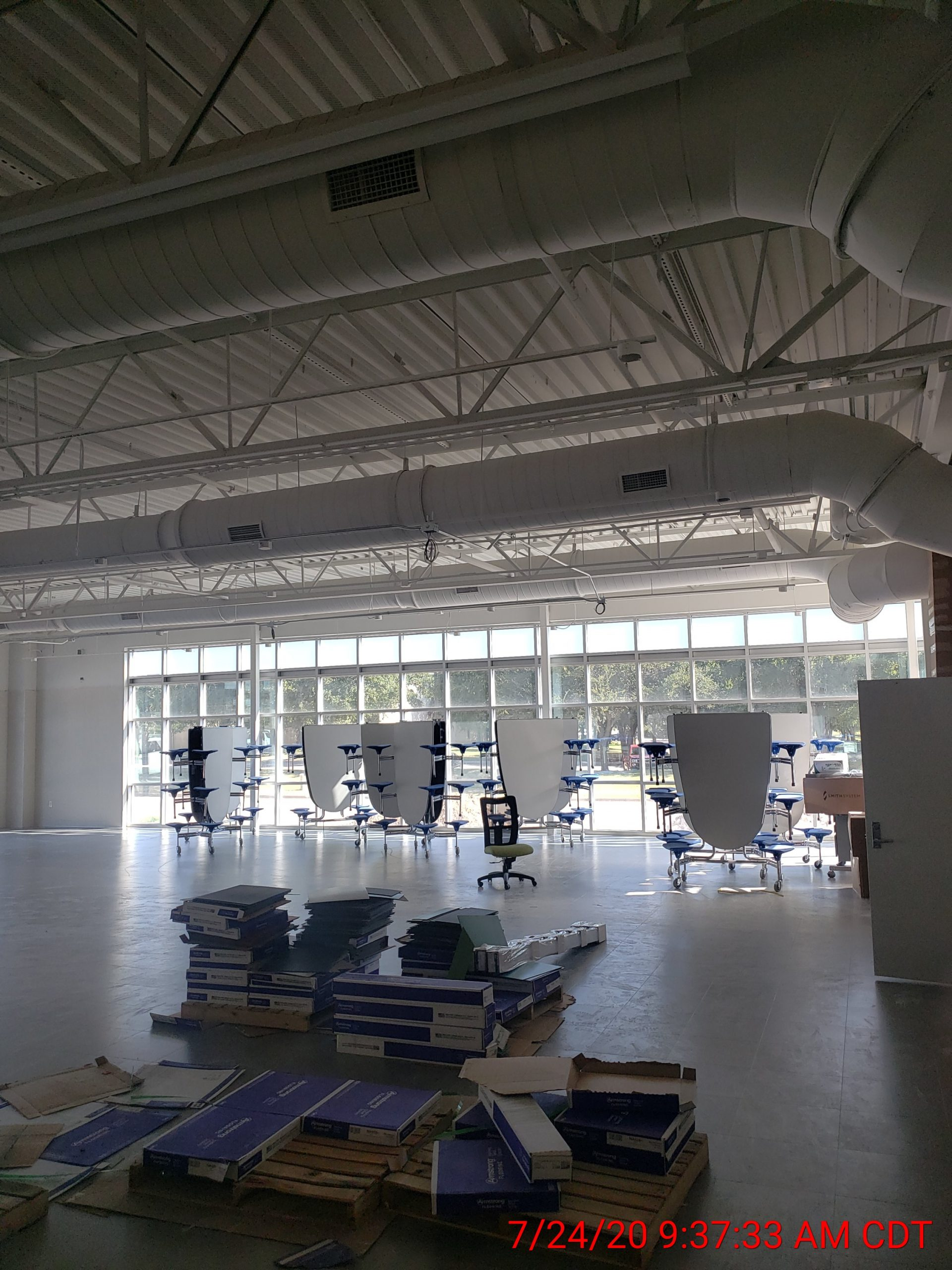 Cafeteria Nearing Completion image 0