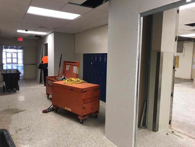 Renovation of New Robotics Lab Underway image 1